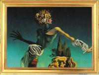 «Женщина с розами вместо головы»