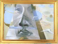 «Появление лица Афродиты Книдской на фоне пейзажа» (1981)