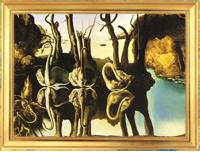 «Лебеди отраженные в слонах» (1397)